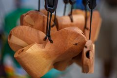 Συριγμός, το γνωστό αναμνηστικό καρναβαλιού! Στοκ εικόνα με δικαίωμα ελεύθερης χρήσης