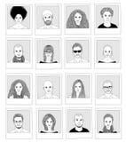 Συρμένες χέρι φωτογραφίες Στοκ φωτογραφία με δικαίωμα ελεύθερης χρήσης