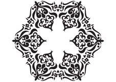 συρμένη σύσταση μορφής χερ&i Στοκ Εικόνα