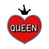 Συρμένη χέρι βασίλισσα απεικόνισης Στοκ φωτογραφία με δικαίωμα ελεύθερης χρήσης