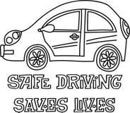Συρμένη χέρι διανυσματική τυπωμένη ύλη αυτοκινήτων στοκ εικόνες με δικαίωμα ελεύθερης χρήσης