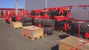 Συρμένος γεωργικός εξοπλισμός Προϊόντα των εγκαταστάσεων για την παραγωγή των γεωργικών μηχανημάτων φιλμ μικρού μήκους