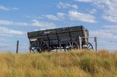 Συρμένο άλογο βαγόνι εμπορευμάτων Στοκ Φωτογραφίες