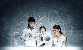 συρμένο απομονωμένο χέρι σχολικό διανυσματικό λευκό μαθήματος Στοκ Εικόνες