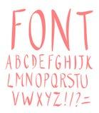 συρμένο αλφάβητο χέρι επίσης corel σύρετε το διάνυσμα απεικόνισης Στοκ εικόνες με δικαίωμα ελεύθερης χρήσης