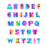 συρμένο αλφάβητο χέρι Στοκ εικόνες με δικαίωμα ελεύθερης χρήσης