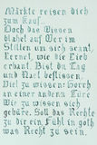 συρμένο γοτθικό κείμενο χεριών διανυσματική απεικόνιση