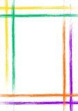 Συρμένο διάνυσμα υπόβαθρο με το πλαίσιο, σύνορα Ρόδινο πρότυπο Grunge με τις γραμμές Παλαιό εκλεκτής ποιότητας σχέδιο ύφους Γραφι Στοκ φωτογραφία με δικαίωμα ελεύθερης χρήσης