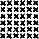 συρμένο πρότυπο χεριών Στοκ εικόνα με δικαίωμα ελεύθερης χρήσης
