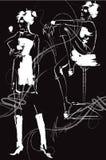 συρμένο σκίτσο Στοκ εικόνα με δικαίωμα ελεύθερης χρήσης