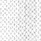 Συρμένο χέρι άνευ ραφής αναδρομικό σχέδιο ταπετσαριών Στοκ εικόνες με δικαίωμα ελεύθερης χρήσης
