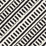 Συρμένο χέρι άνευ ραφής σχέδιο επανάληψης με την επικεράμωση γραμμών Βρώμικη ελεύθερη σύσταση υποβάθρου Στοκ φωτογραφία με δικαίωμα ελεύθερης χρήσης