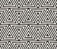 Συρμένο χέρι γραπτό ριγωτό άνευ ραφής σχέδιο μελανιού Διανυσματική σύσταση δικτυωτού πλέγματος grunge Η μονοχρωματική βούρτσα κτυ Στοκ φωτογραφία με δικαίωμα ελεύθερης χρήσης