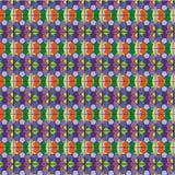 Συρμένο χέρι μοτίβο στο ύφος καρναβαλιού πολυτέλειας harlequin άνευ ραφής PA Στοκ φωτογραφία με δικαίωμα ελεύθερης χρήσης