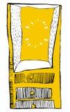 Συρμένο χέρι στήθος απεικόνισης των συρταριών διανυσματική απεικόνιση