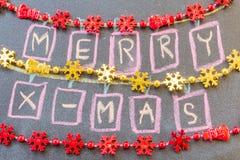 Συρμένο χέρι σχέδιο Χριστουγέννων Στοκ εικόνες με δικαίωμα ελεύθερης χρήσης