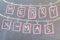 Συρμένο χέρι σχέδιο Χριστουγέννων Στοκ φωτογραφία με δικαίωμα ελεύθερης χρήσης
