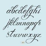 συρμένο χέρι τύπων χαρακτήρω& Στοκ εικόνες με δικαίωμα ελεύθερης χρήσης