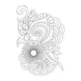 Συρμένο χέρι doodle στοιχείο για το σχέδιο Στοκ Φωτογραφία