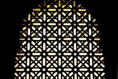 Συρματόπλεγμα Windows μουσουλμανικών τεμενών Στοκ εικόνες με δικαίωμα ελεύθερης χρήσης