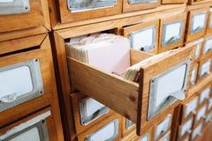 Συρτάρι εικονιδίων του διαχειρηστή αρχείων Στοκ φωτογραφία με δικαίωμα ελεύθερης χρήσης