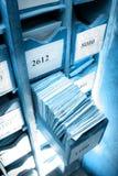 Συρτάρι με τα επιχειρησιακά έγγραφα Στοκ εικόνα με δικαίωμα ελεύθερης χρήσης
