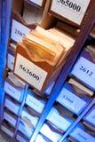 Συρτάρι με τα επιχειρησιακά έγγραφα Στοκ Εικόνες
