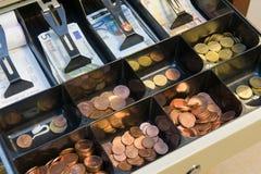 Συρτάρι με τα χρήματα Στοκ εικόνα με δικαίωμα ελεύθερης χρήσης