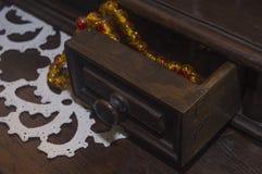 Συρτάρι με χάντρες 1 Στοκ φωτογραφία με δικαίωμα ελεύθερης χρήσης
