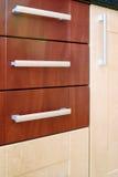 συρτάρι πορτών ξύλινο Στοκ Φωτογραφία