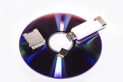 Συσκευές αποθήκευσης στοκ εικόνα με δικαίωμα ελεύθερης χρήσης