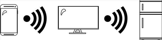 Συσκευές για Διαδίκτυο των πραγμάτων IoT Στοκ Φωτογραφία