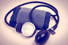 Συσκευές για τη πίεση του αίματος Στοκ Εικόνες