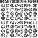 Συσκευές και ηλεκτρονική διανυσματική απεικόνιση