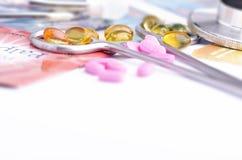 Συσκευές και φάρμακα Στοκ εικόνα με δικαίωμα ελεύθερης χρήσης
