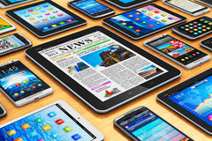 συσκευές κινητές Στοκ φωτογραφία με δικαίωμα ελεύθερης χρήσης