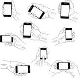 συσκευές κινητές Στοκ Φωτογραφίες