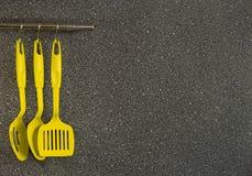 Συσκευές κουζινών κίτρινες στοκ φωτογραφίες με δικαίωμα ελεύθερης χρήσης