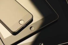 Συσκευές της Apple Στοκ φωτογραφία με δικαίωμα ελεύθερης χρήσης