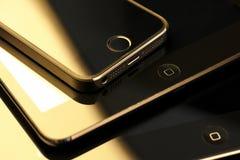 Συσκευές της Apple Στοκ εικόνες με δικαίωμα ελεύθερης χρήσης