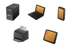 συσκευές Στοκ φωτογραφίες με δικαίωμα ελεύθερης χρήσης