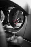 Συσκευή αυτοκινήτων με το ρηχό βάθος του τομέα Στοκ φωτογραφία με δικαίωμα ελεύθερης χρήσης