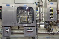 Συσκευή εμπλουτισμού σε διοξείδιο του άνθρακα Στοκ φωτογραφία με δικαίωμα ελεύθερης χρήσης