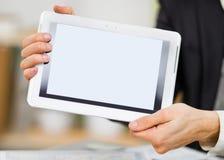 Συσκευή οθόνης αφής Στοκ Φωτογραφία