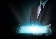 Συσκευή υπολογιστών αφής ταμπλετών Στοκ εικόνα με δικαίωμα ελεύθερης χρήσης