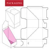 Συσκευασία για το καλλυντικό ή skincare το προϊόν απεικόνιση αποθεμάτων