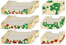 συσκευασία εμπορευμ&alpha απεικόνιση αποθεμάτων