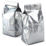 Συσκευασία τσαντών φύλλων αλουμινίου στοκ φωτογραφίες με δικαίωμα ελεύθερης χρήσης