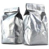 Συσκευασία τσαντών φύλλων αλουμινίου στοκ φωτογραφία