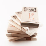 Συσκευασία των χρημάτων Στοκ Εικόνες